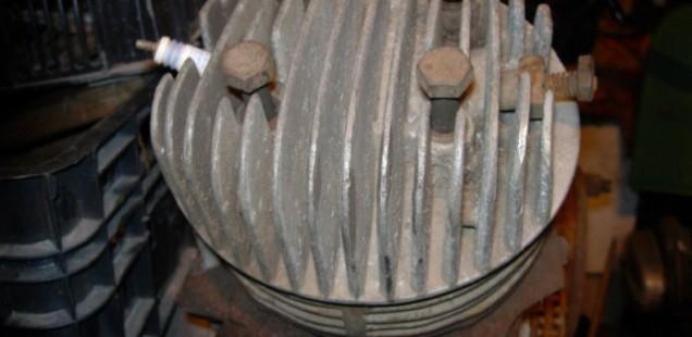 Головка цилиндра Иж-49