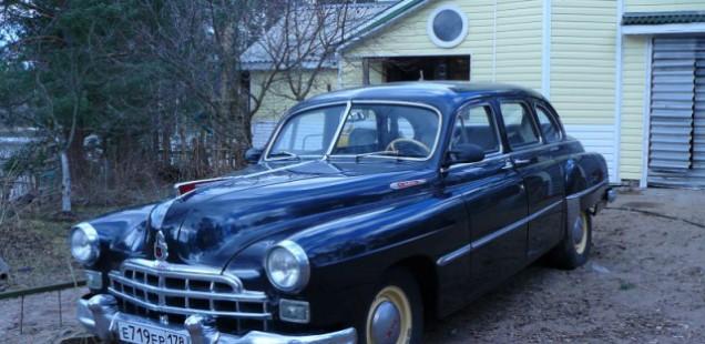 Продается «ЗиМ» (ГАЗ-М-12) 1955 года