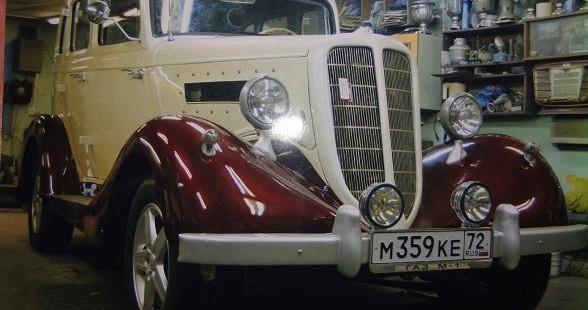 Продается ГАЗ-М1 1938