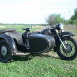 Ретро Мотоцикл Днепр К-650