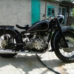 Мотоцикл Урал М-72 1958 г.в