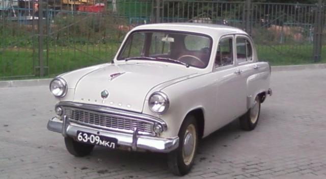 Москвич 407 1961 г.в. 100% оригинал