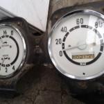 Приборка на москвич 401