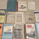 Литература ( каталоги альбомы инструкции ) по ретроавтомобилям