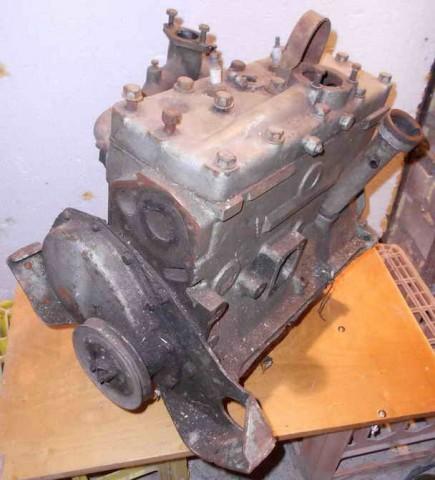 Двигатель Москвич 402