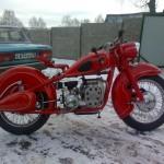 мотоцикл м 72 кастом