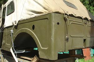 Кузова-рамы новые на ГАЗ-69