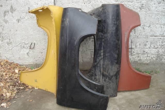 Крылья-двери и др. на ГАЗ-21