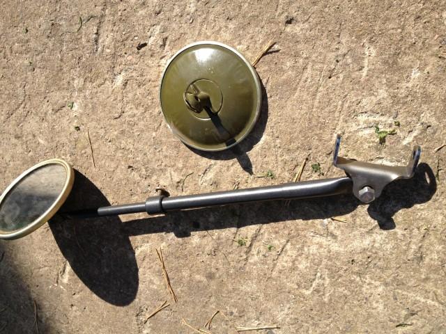 Боковые зеркала на ГАЗ-69 / 63 / 51