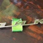 Новая надпись ЧАЙКА на багажник ГАЗ 13 Чайка