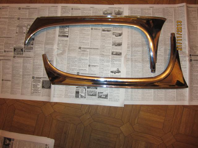 Хром на лобовое стекло газ- 21