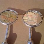 экспортные зеркала на крылья Москвич 402-03-07