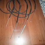 тросики в текстильной оплётке на м72,иж 49/350