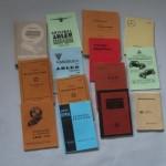 Каталог деталей, руководства и др. литература по ретро технике 1930-40гг.