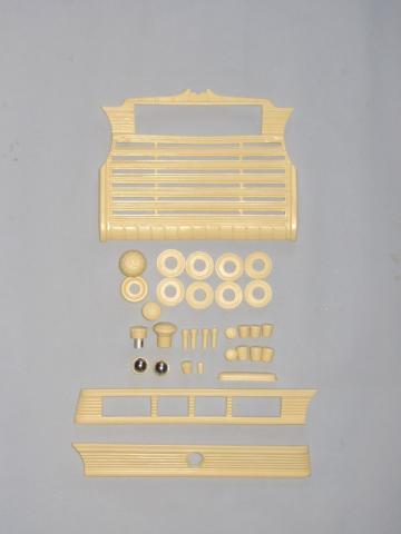 ГАЗ М20 Пластик салона.