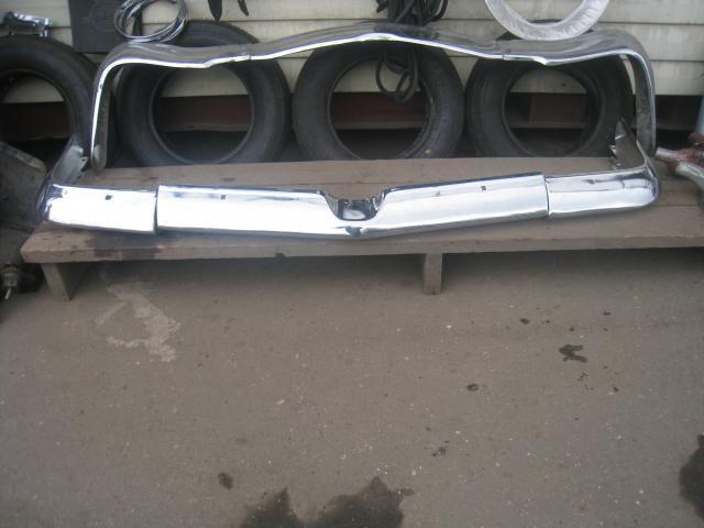 Бампер передний  Газ-21 третий выпуск новый в сборе