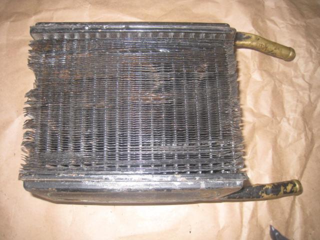 Радиатор печки Газ-24