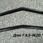 """Уплотнитель крышки лючка вентиляции передка для автомобилей ГАЗ-М20 """"Победа"""", ГАЗ-69 и их модификаций."""