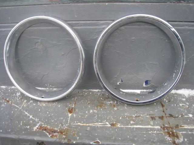 Ободки фар Ваз-2101