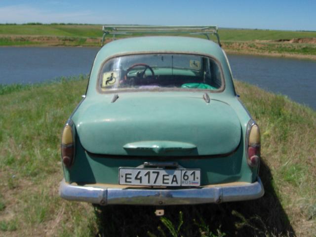 москвич 407(на ходу)