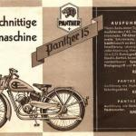 Мотоцикл Wanderer 1939 г.в.