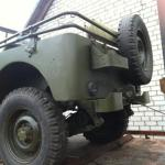 Willys 1942 года