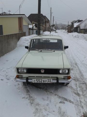 АЗЛК 2137 (экспортный вариант) 1976года