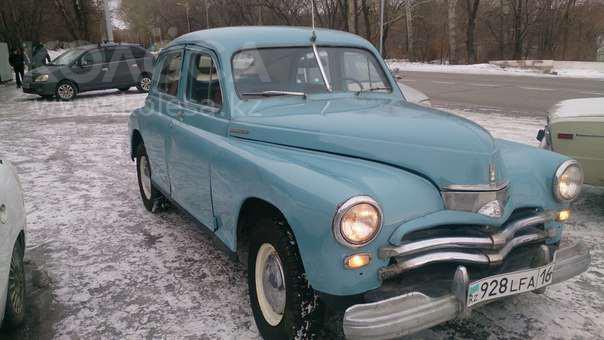 "Ретро-автомобиль ГАЗ 20 ""Победа"" 1956 года"