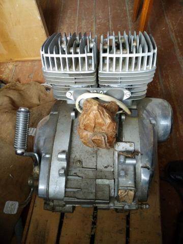 Двигатель ИЖ Ю 5