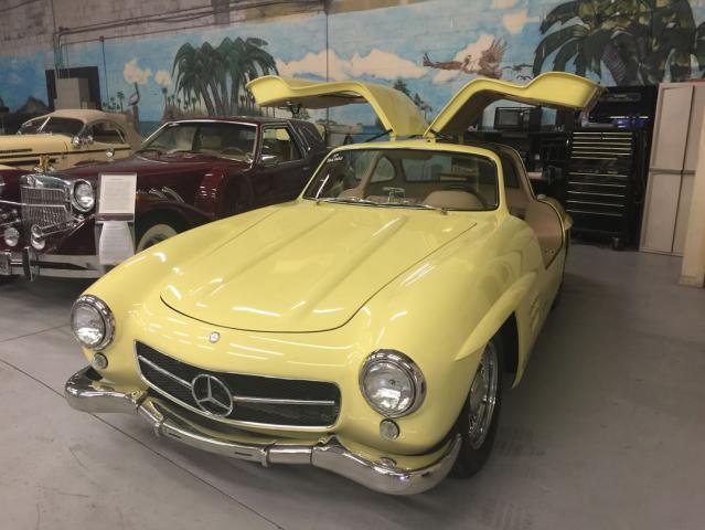 1955 Mercedes-Benz 300SL Gullwing , replica