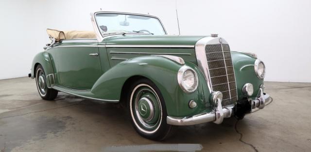 1953 Mercedes-Benz 220A Cabriolet