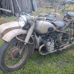 мотоцикл м72м 1959гв