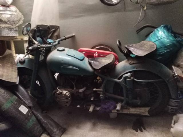 Продаю  мотоцикл к 750  1958г выпуска