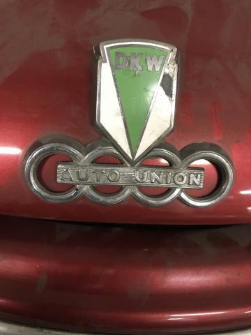 DKW -  редкое авто