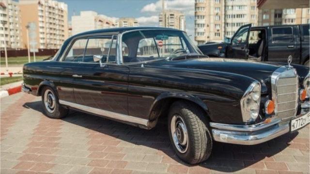 Mercedes-Benz S-класс, 1967