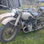 Мотоцикл M72 1959