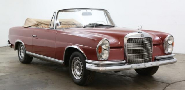 1968 Mercedes-Benz 280 SE Convertible