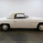 1961 Mercedes-Benz 190 SL with 2 tops