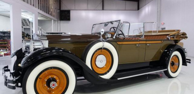 1928 Packard Custom Eight Model L43 Phaeton