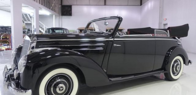 1952 Mercedes-Benz 220 B Cabriolet