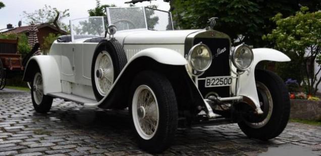 1926 Hispano Suiza Dual Cowl Phaeton