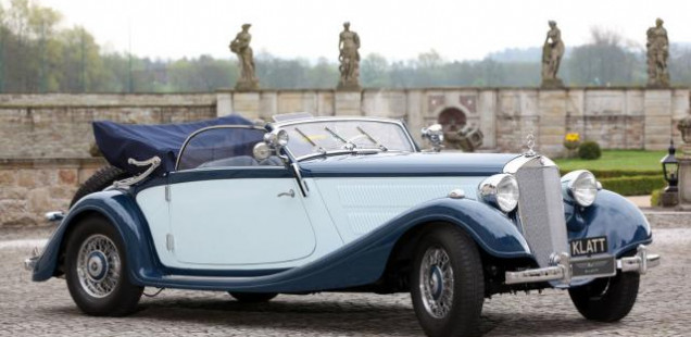 1939 Mercedes-Benz 320 Cabriolet  A