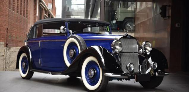 1936 Mercedes-Benz 320 Cabriolet