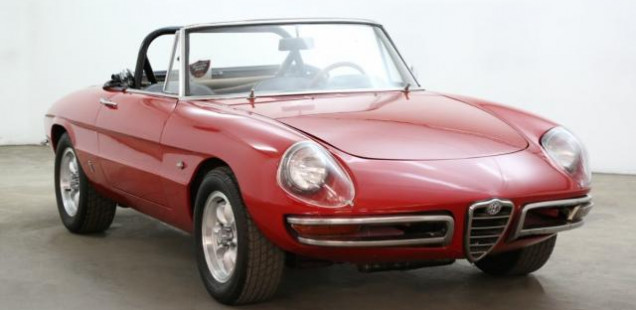 1966 Alfa Romeo Guilia Spider