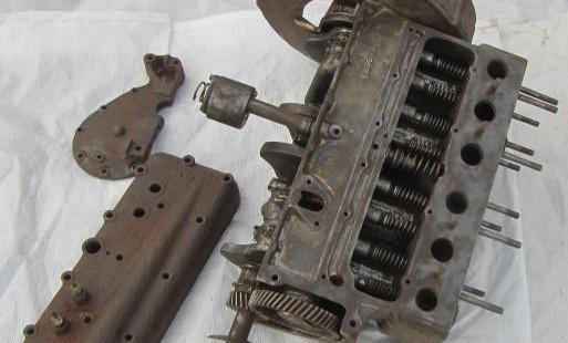 Двигатель полуторка